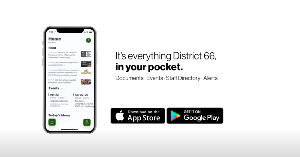 District 66's New Mobile App