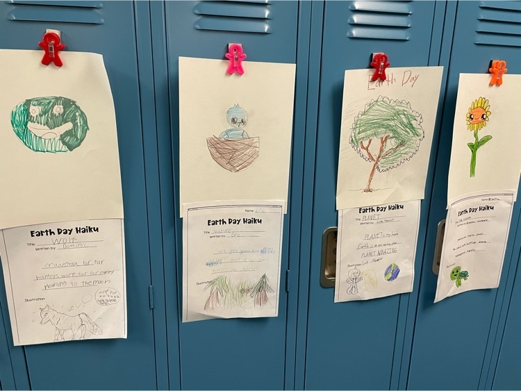 mrs. Spakausky's fourth grade Earth Day poems.